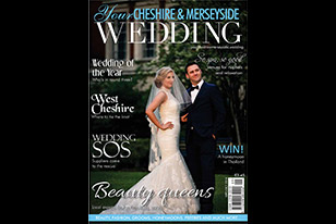 We have this Sept Wedding Magazine Front Cover