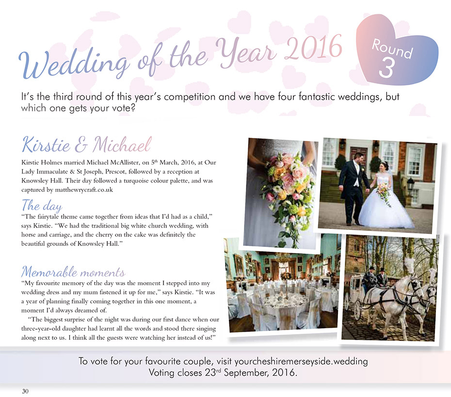 Wedding Of the Year Cheshire & Merseyside