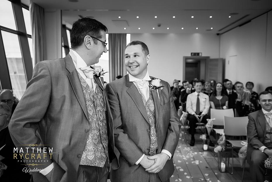 Wedding Photographer at Hope Street Hotel
