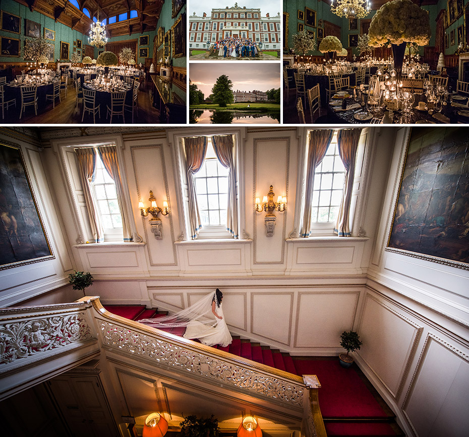 Wedding Photography at Knowlsey Hall