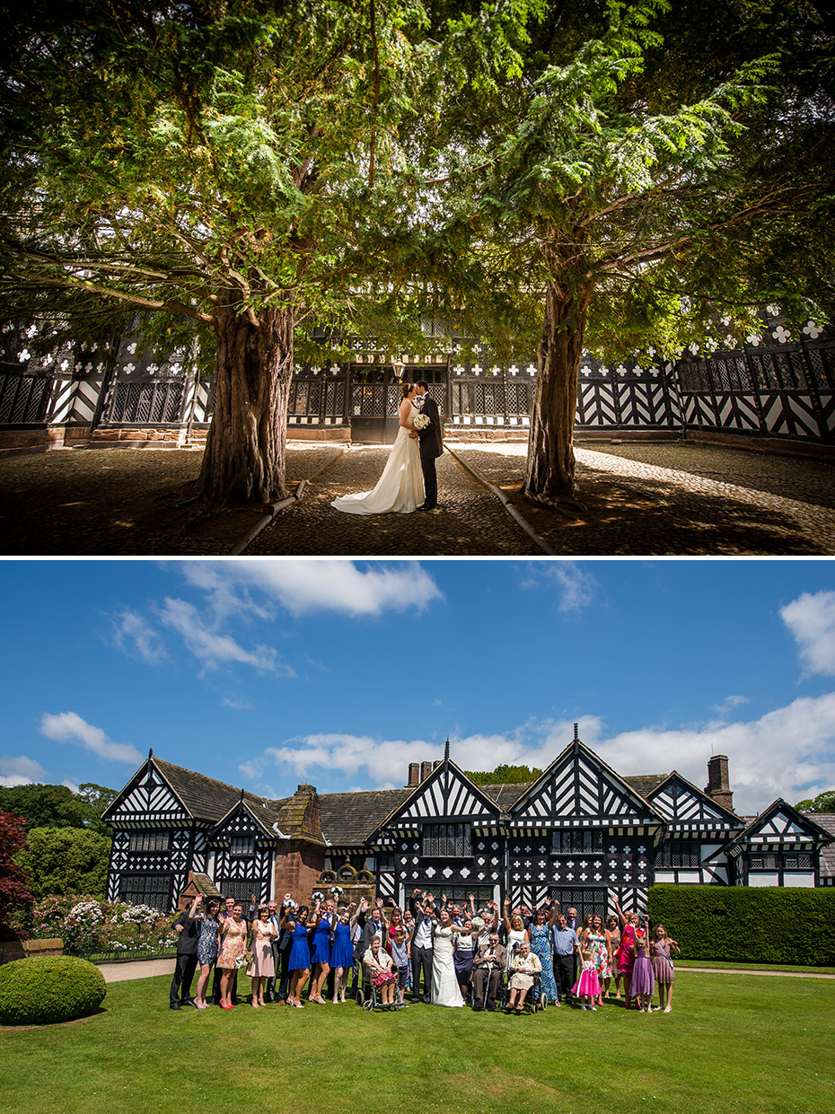 Wedding Photography at Speke Hall