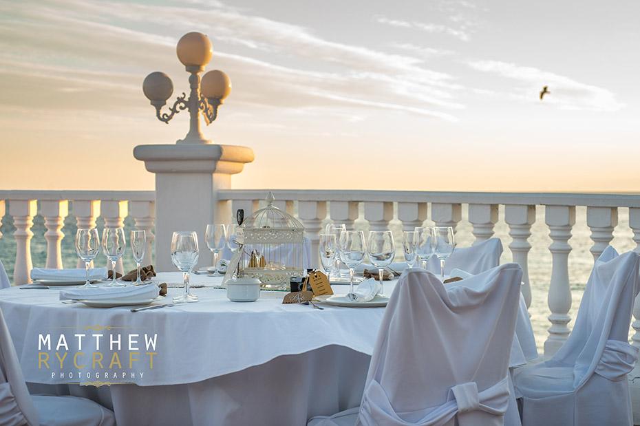 Wedding Sunset Abroad