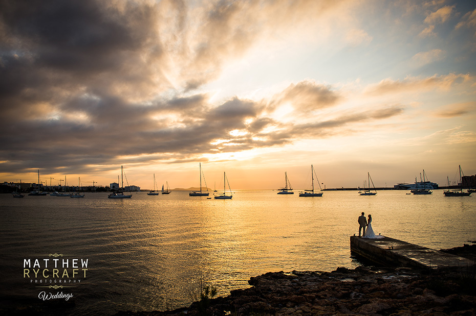 Wedding Sunset in Ibiza