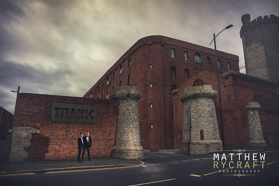 Wedding at Titanic Hotel Liverpool