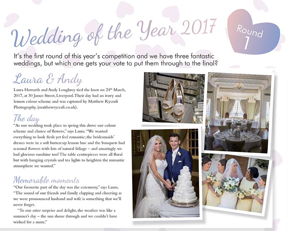 Wedding of the Year 2017 Your Merseyside