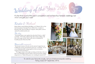 Knowsley Hall Wedding of the Year