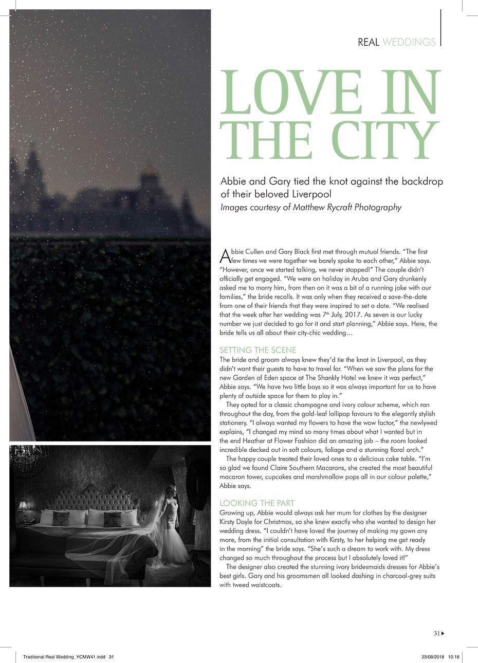 Your Cheshire and Merseyside Wedding Magazine