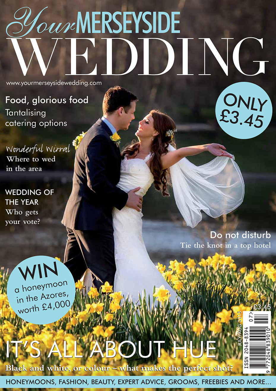 Your Merseyside Wedding Magazine - Matthew Rycraft Front Cover