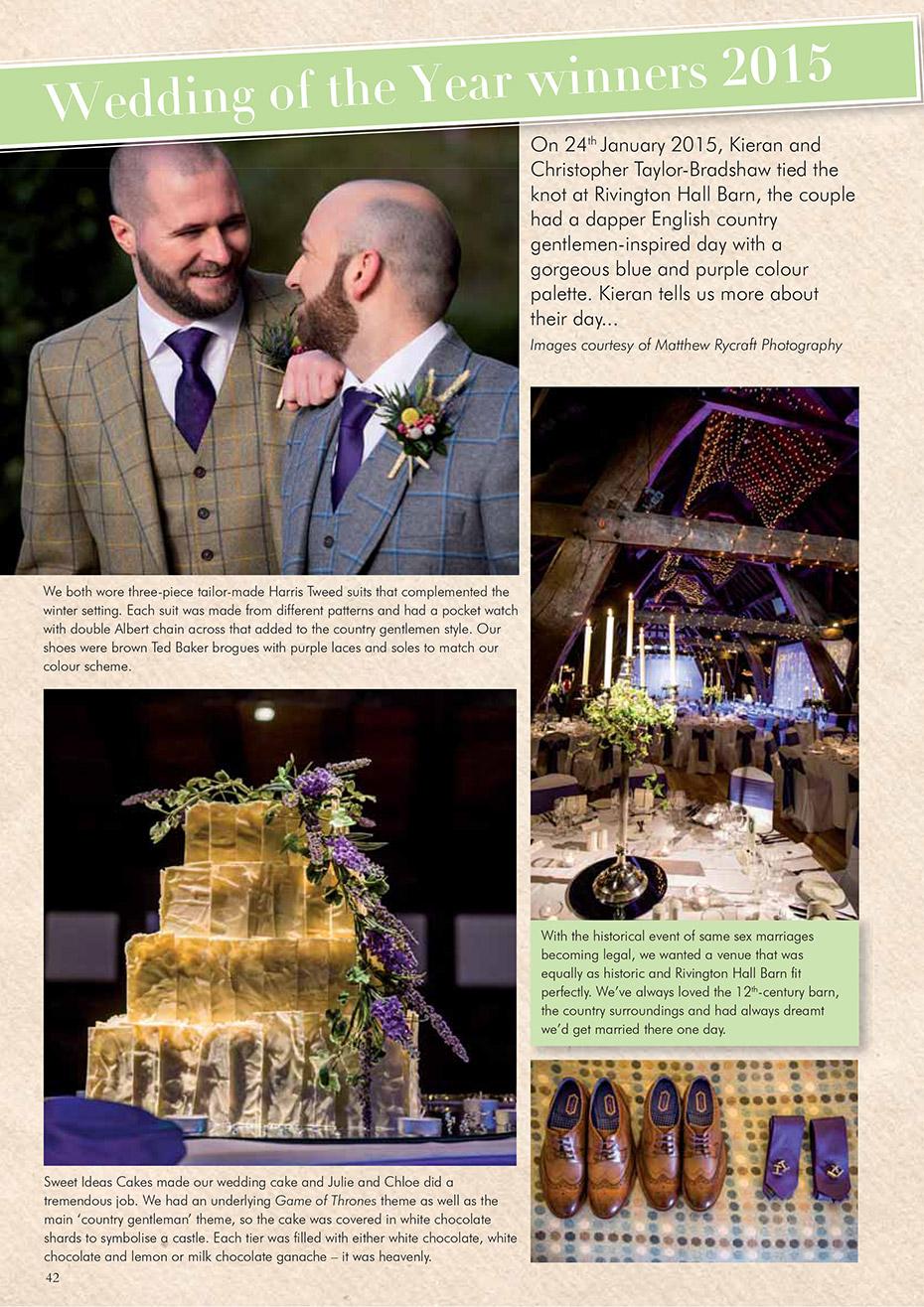 Your Merseyside Wedding Magazine Wedding of the Year Winners