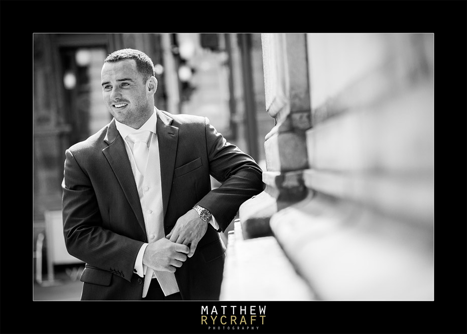 Groom Portrait - Matthew Rycraft Photography