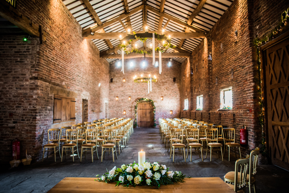 Meols Hall - The Tithe Barn - Southport wedding venue