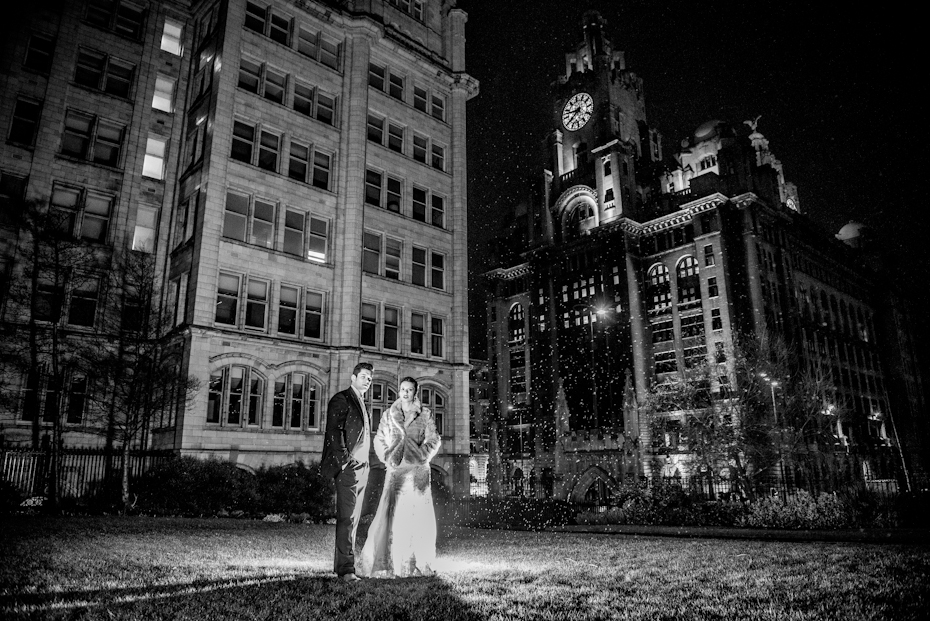 Racquet Club Winter Wedding