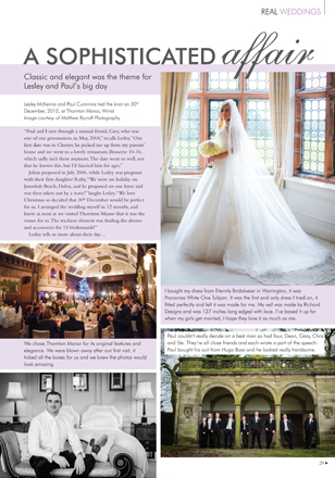 Real Wedding Thornton Manor