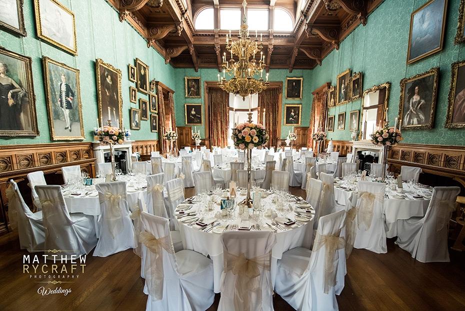 Knowsley Hall Wedding Reception