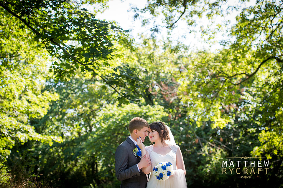 Hesketh Park Wedding Photograph Southport