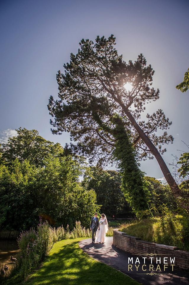 Hesketh Park Wedding Photograph