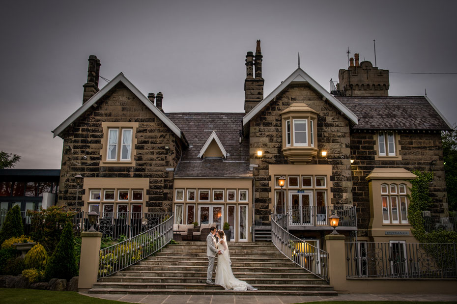 West Tower Wedding Photograph