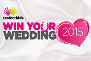 Win your Wedding with Cash for Kids